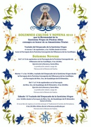 CARTEL NOVENARIO 2018
