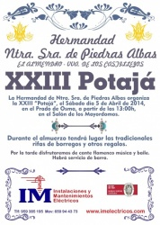 CARTEL XXIII POTAJA 2014