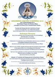 CARTEL NOVENARIO 2019